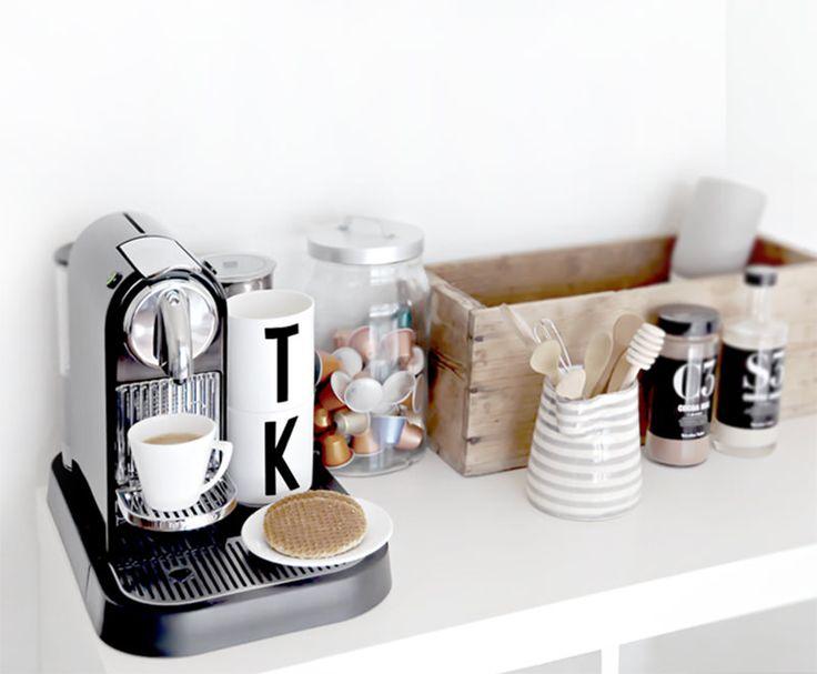 Ideias para montar o cantinho do café.