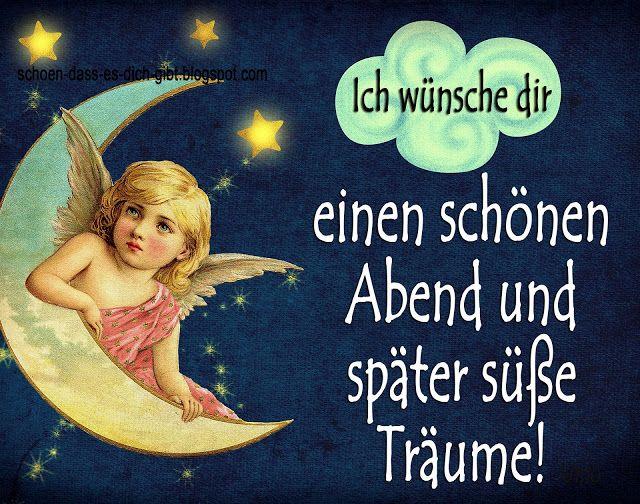 Wünsche dir einen schönen abend und eine gute nacht