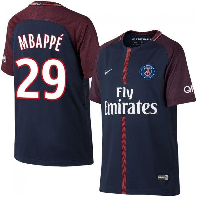 PSG 2017-2018 + Mbappe 29 (Dorsal Estilo Fan)  psg  mbappe  shirt  maillot   trikot  maglia  jersey  camiseta  remera  equipacion  reme… af60d0cb7601a