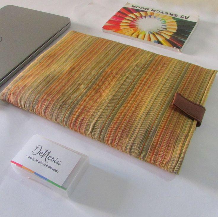 DeNesia's Ethnic Lurik Tenun Laptop Sleeve | Sarung Laptop Tenun | LS01