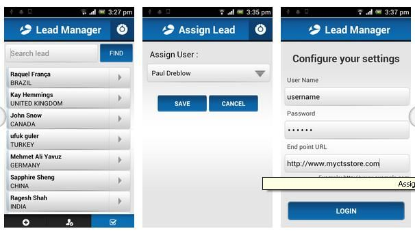 Manage lead module for an online #SugarCRM store using our excellent Sugar Lead Manager Mobile Application