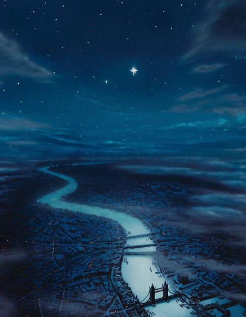 Second star to the right and straight on till morning... I want this to hang up in my room