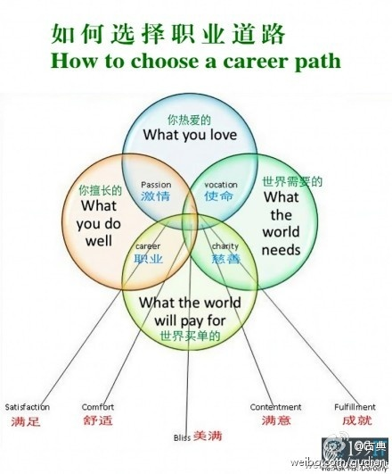 finding bliss dorothy shapland haha great attempt but between what the world pays for and what the world needs is social enterprise - How To Decide On A Career How To Choose A Career Path