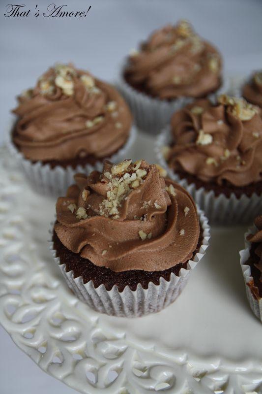 Cupcakes au Nutella - Cupcakes alla Nutella