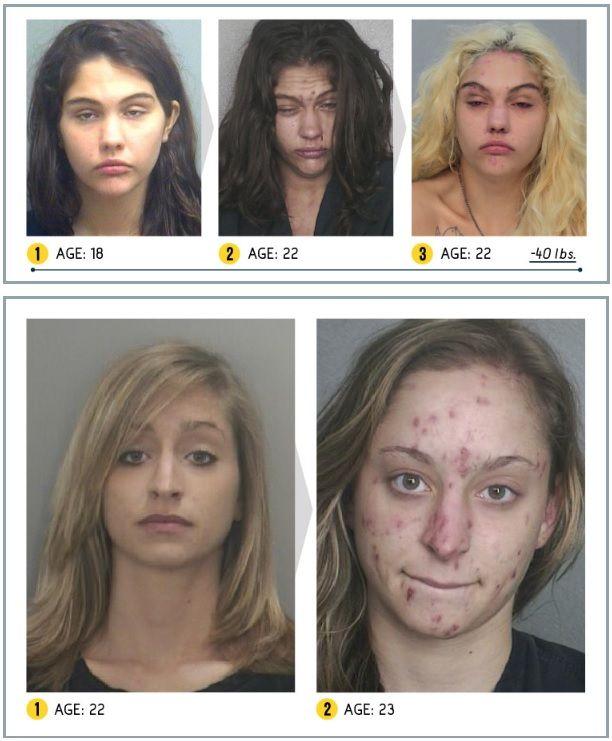 Хероин, кокаин, метамфетамин и оксикодон са сред наркотиците, които са най-разпространени и най-опасни за човешкото здраве и живот.