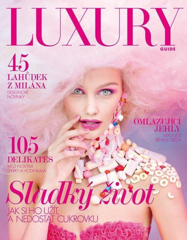 #houseofmagazines   Zuzana Straska for Luxury Guide CzechZuzana Straska, Lucy Robinson, Guide Czech, Fashion Covers, Fashion Magazines, Magazines Covers, Luxury Guide, Czech Zuzana, Czech Covers