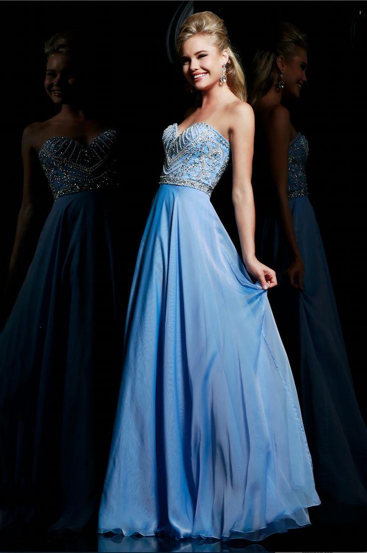 Periwinkle Chiffon Prom Dresses – fashion dresses