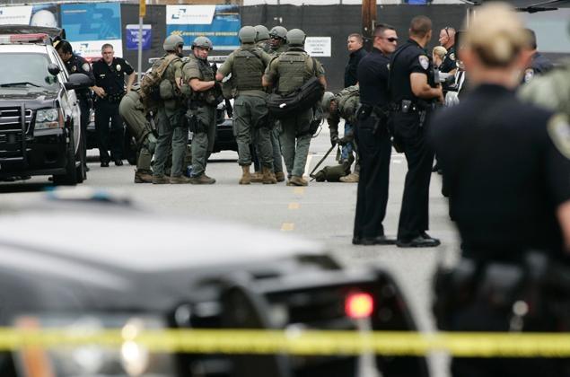 Santa Monica Police Dept and assisting agencies