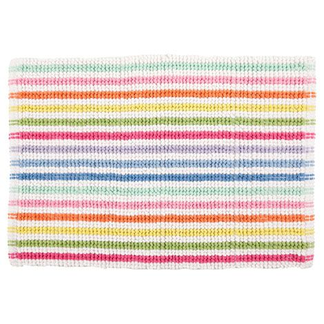 Children's Multicolored Striped Bath Mat | ZARA HOME United States of America
