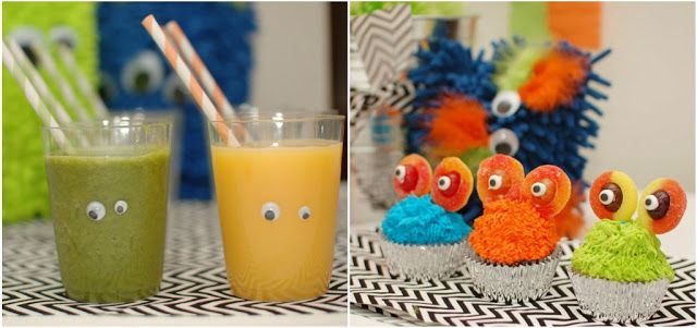 Little Monster Birthday Party {Guest Feature} - Celebrations at Home