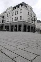 Dieses Pflaster der Firma Berding wurde rund um den Klosterhof auf Burg- und Orsaystraße verlegt.