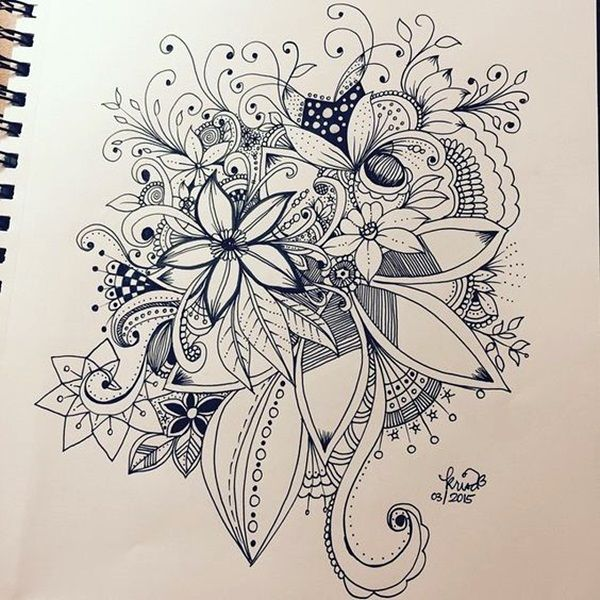 45 Creative Doodle Art Tutorials and Examples