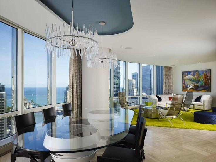 Get Inside Trump Towers Interior Design In Chicago Luxury Dining Room  Get Inside Trump Towers Interior Design In Chicago Luxury Dining Room |  Pinterest ...