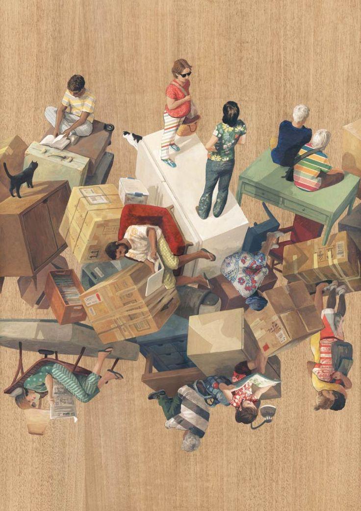 Escher worlds les étranges architectures surréalistes de cinta vidal