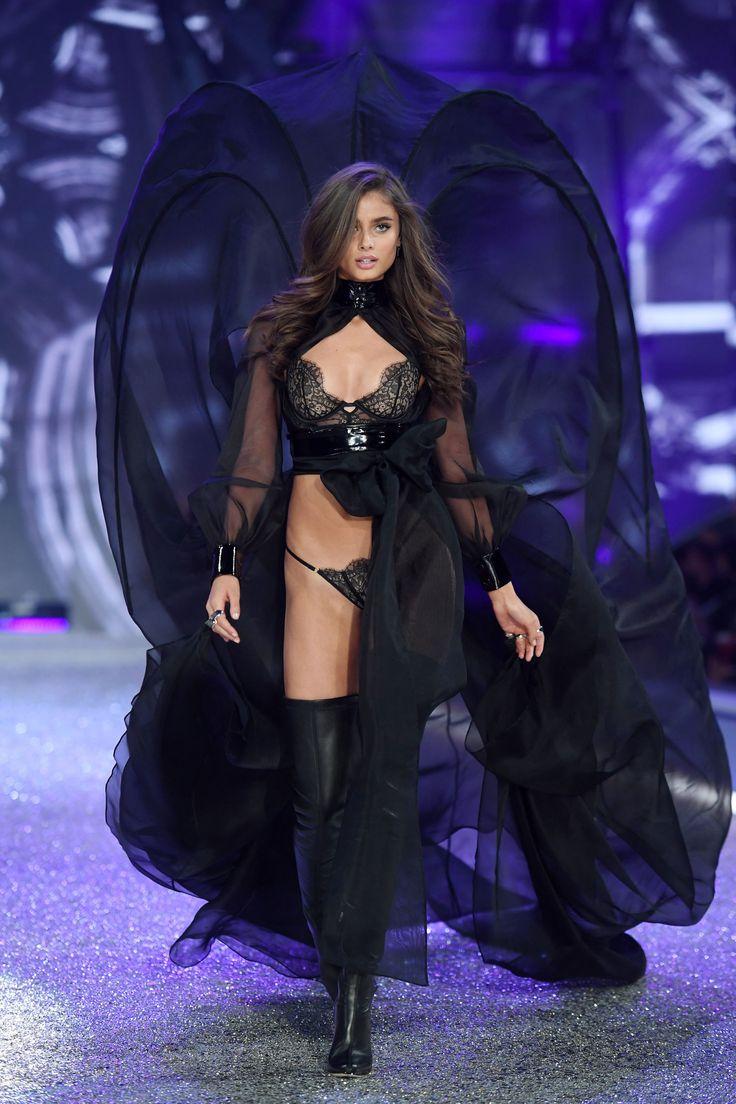 Taylor Hill for Victoria's Secret Fashion Show 2016 - HarpersBAZAAR.com