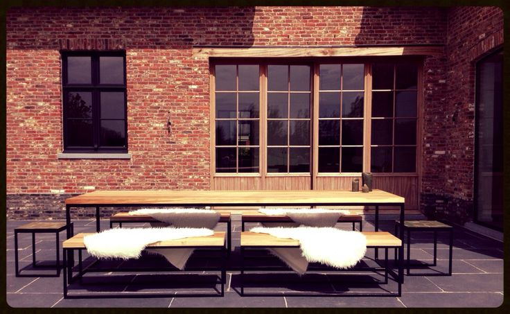 Outdoor Livin' Collection Steel N Wood, Flemish Countryhouse