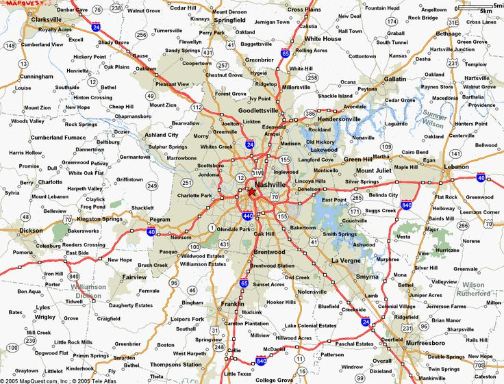 Best Map Of Nashville Ideas On Pinterest Map Of Downtown - Tn road map