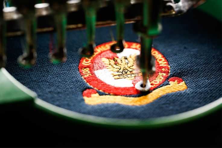 Embroidery last forever