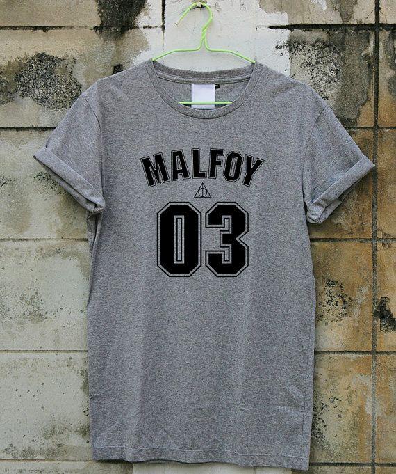 Draco Malefoy 03 chemise Harry Potter chemise courte par AOMYSHIRT