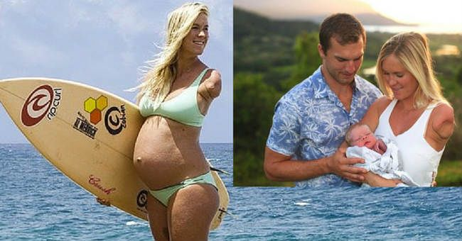 Superstar Surfer Bethany Hamilton Had a Baby Boy and You'll Love His Name - For Every Mom