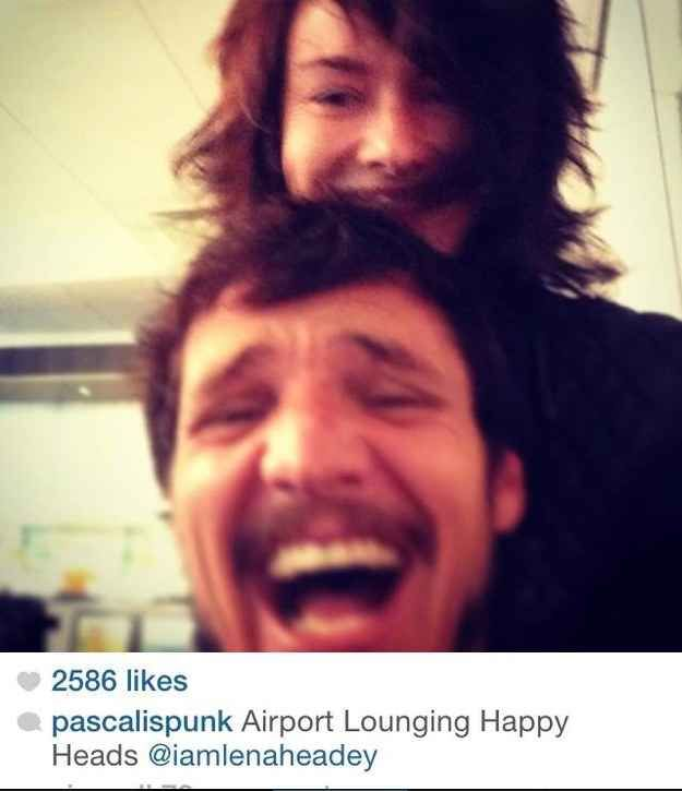 Community: 19 Pictures That Prove Pedro Pascal And Lena Headey Have The Coolest Friendship Ever