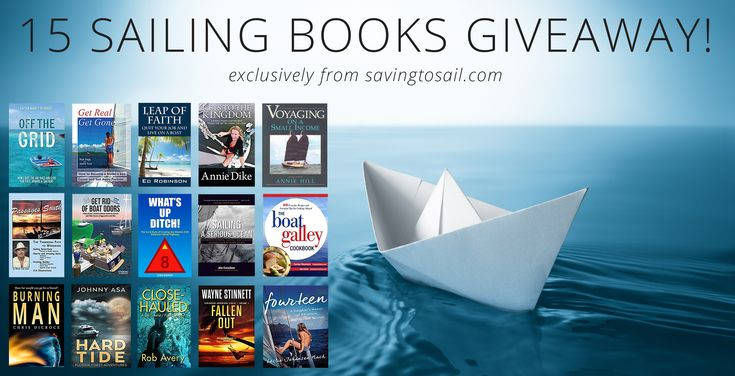 15 Sailing Books Giveaway
