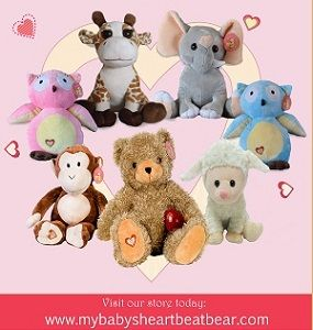 $15 off of $25!!!! My Baby's Heartbeat Bear!! Coupon Code: THANKS As the Holidays quickly approach us we wanted to give you, our loyal customer, your first gift of the Season! Enjoy $15 off your pu...