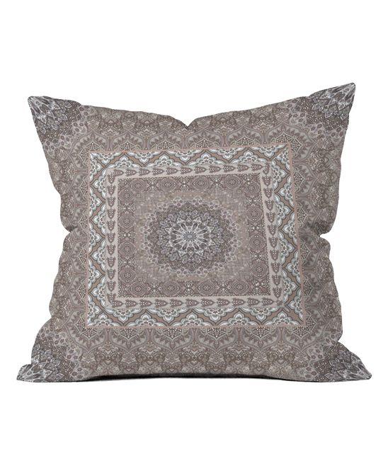 Aimee St. Hill Farah Square Neutral Throw Pillow