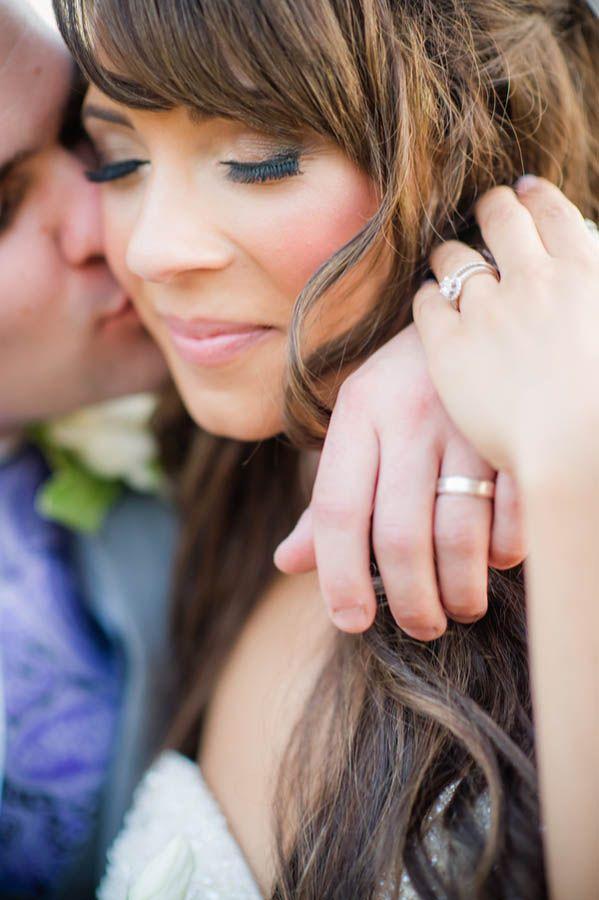Romantic wedding portrait idea (Julie Nicole Photography)