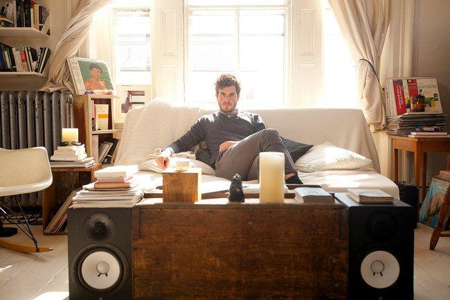 Nicolas Jaar at his home