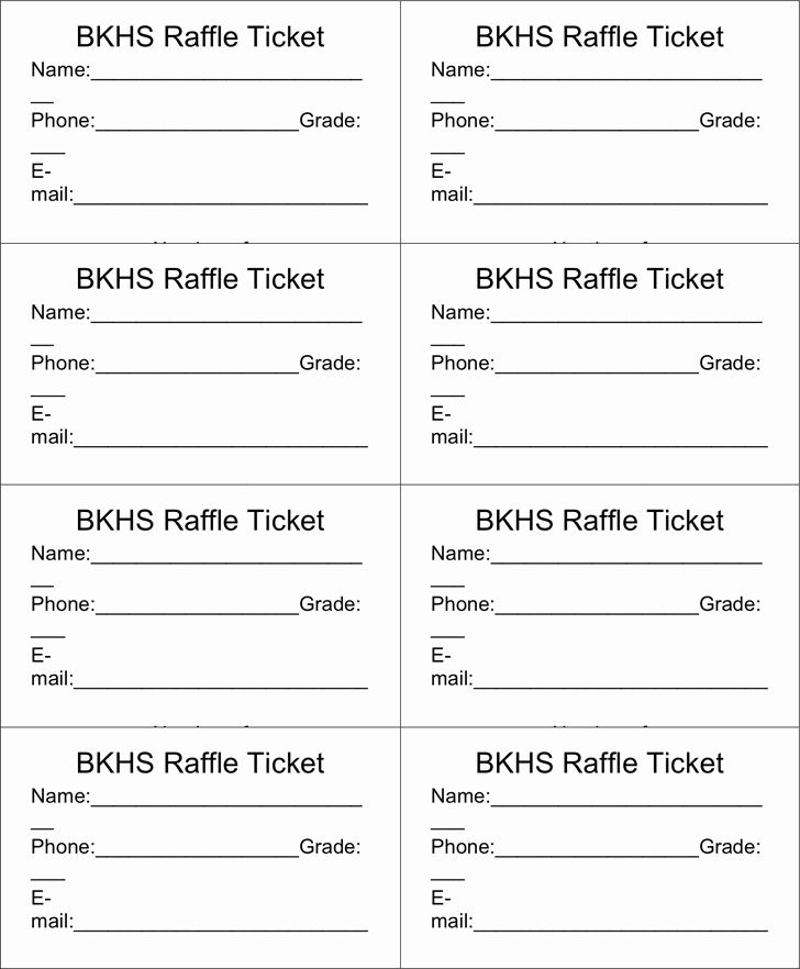 Free Printable Contest Entry Form Template Beautiful Raffle Ticket Templates Word Temp Ticket Template Free Raffle Ticket Template Free Raffle Tickets Template