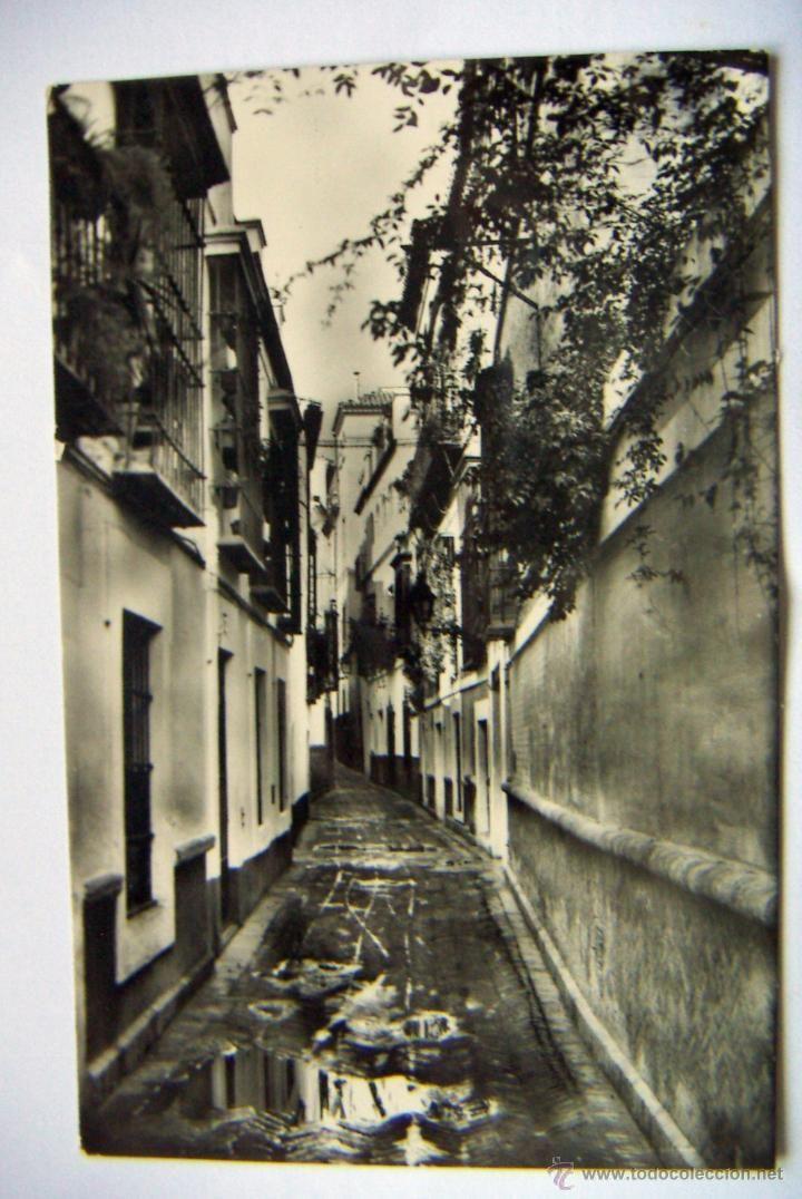 POSTAL DE SEVILLA: CALLE DE LA PIMIENTA ED.HELIOTIP.ARTISTICA 24 - Foto 1