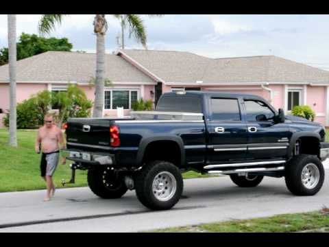 Chevy vs. Ford. Feel the power of a DURAMAX! Hell yeahh!!