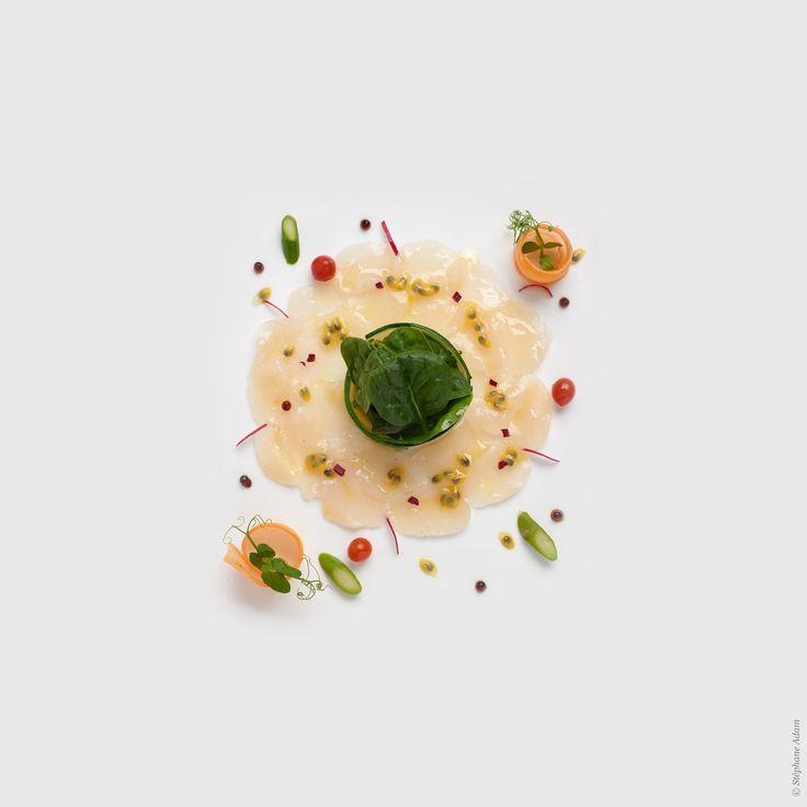 Photos culinaires - Photographe professionnel du luxe  © Stéphane Adam avec le chef Armand Esbelin stephane-adam.com/