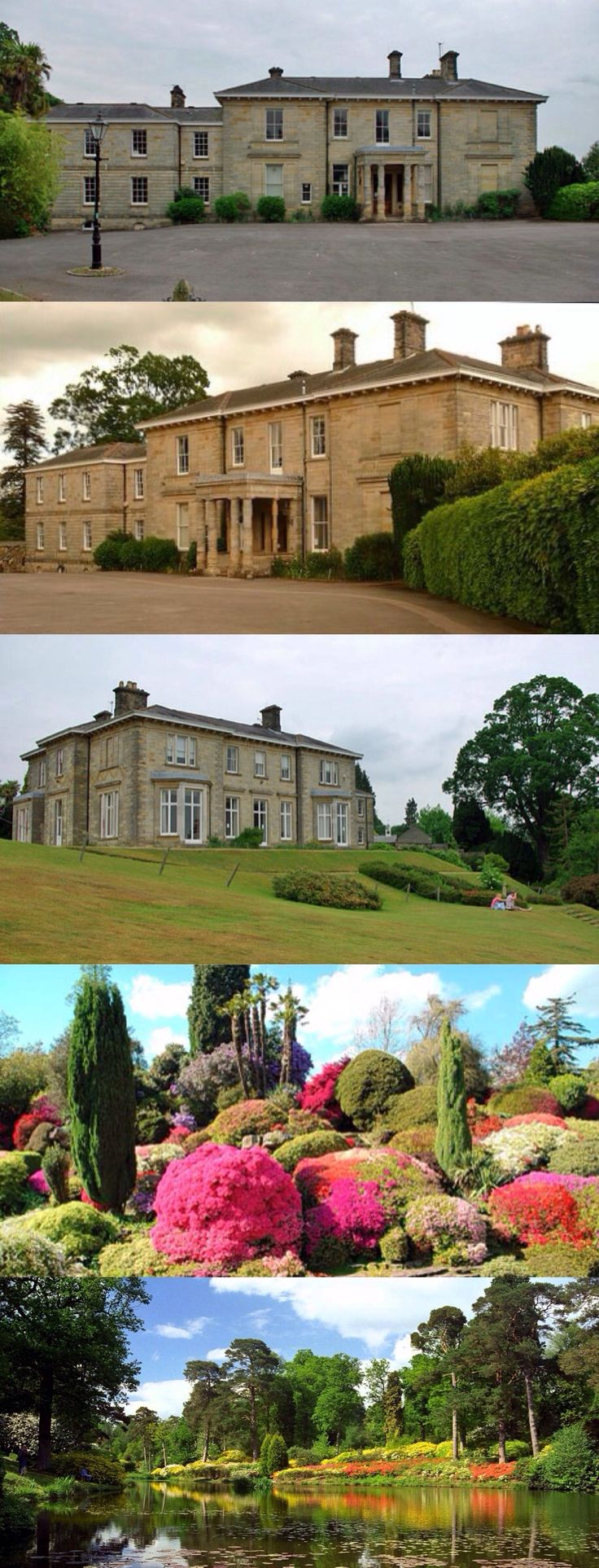 Leonardslee, nr Horsham, Sussex. By T.L. Donaldson, 1853, for W.E. Hubbard. Italianate with 2-storey central hall. Unpretentious, but displays a 'modest sumptuousness' (Goodhart-Rendel). In 1889 Edmund Loder bought the property and began developing the garden. The house was sold for offices but the Loder family retained the 225acre garden, opening it to the public until 2010, when it and the house were sold to a private owner.