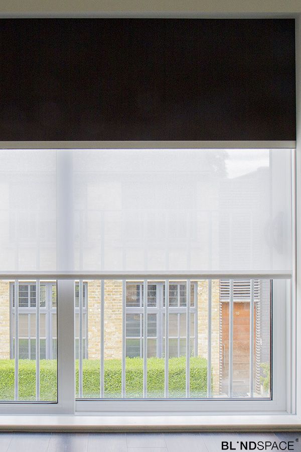 Double Roller Shades In Sliding Doors Sliding Doors In 2019