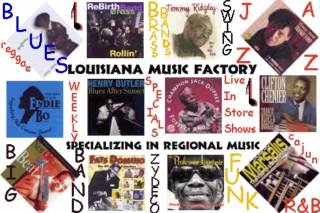 The Louisiana Music Factory is a great place to find music that transports your to New Orleans.  From Jazz to Zydeco they have the best.