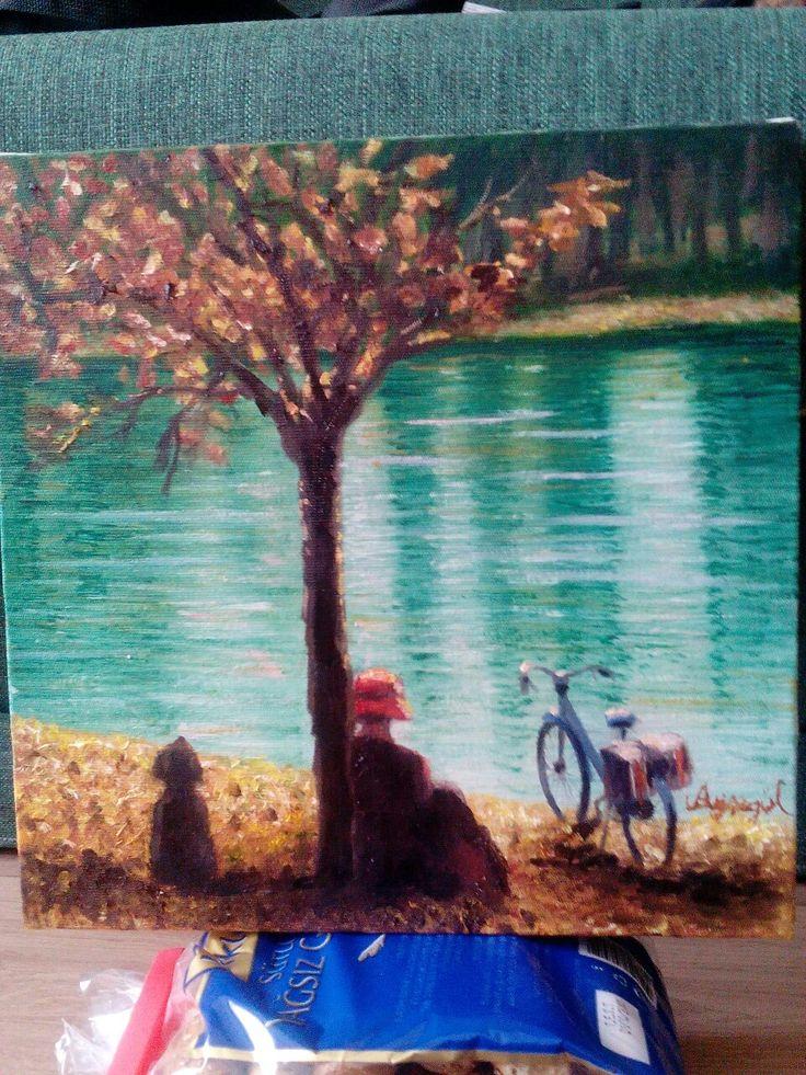 30*30 cm oil on canvas