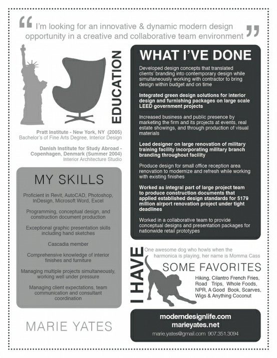 Best Design  Resume Images On   Resume Ideas