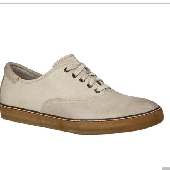 NEW UGG GARRICK sport oxfords leather 11 /12 42 EU The Garrick is a 5-eye oxford that features a decorative leather welt, interchangeable flat waxed cotton laces, an UGGpure™ shearling lined heel and footbed, and a molded rubber outsole. Unisex styling. Sized 9 men's, converts to about 11-12 women's. Go by 42 EU. GUARANTEED AUTHENTIC. I bought these from the ugg shop myself. Receipt included. Insole: UGGpure™ Outsole: Rubber Upper: Leather Imported UGG Shoes Flats & Loafers