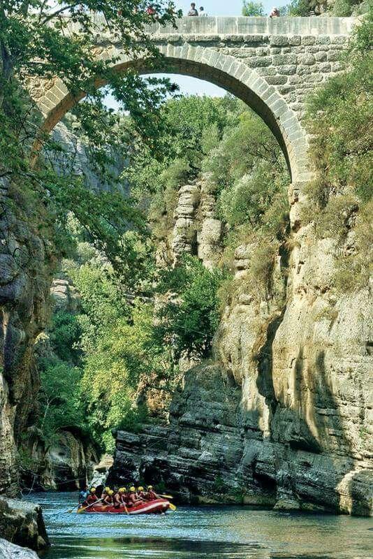 Köprülü kanyon, Sütçüler, İsparta