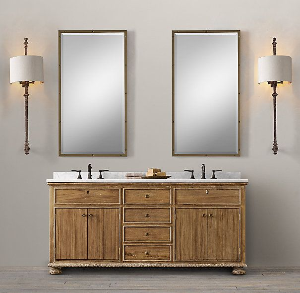 Photographic Gallery French Empire Double Vanity Sink