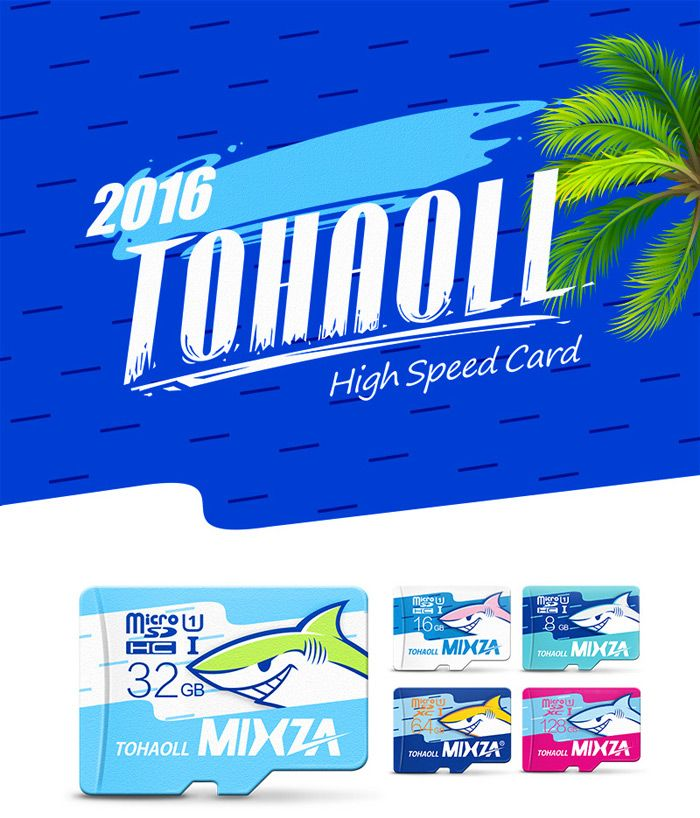 Flash Sale: MIXZA TOHAOLL Ocean Series 64GB MicroSD Card – $13.89