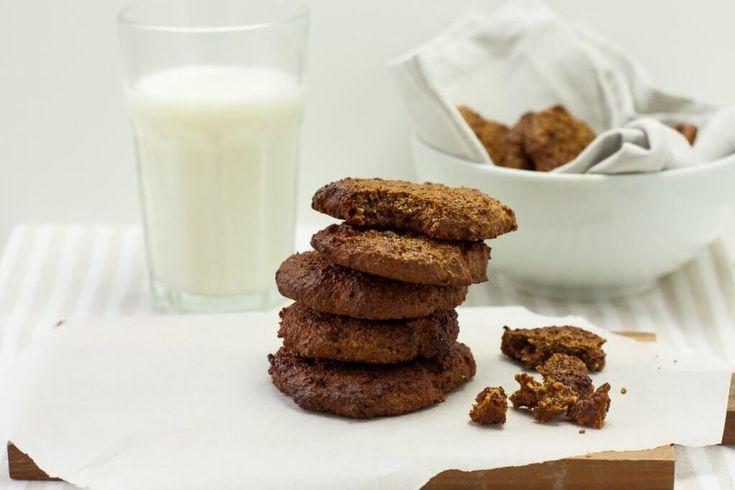 Wir lieben Kekse als kleinen Snack zwischendurch. Deswegen habe ich mir eine etwas gesündere Variante überlegt.