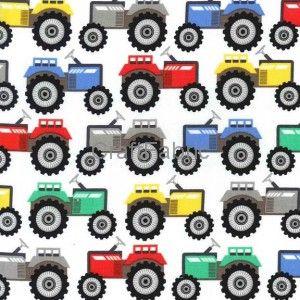 Traktory - Tkanina bawełniana Sklep Internetowy CraftFabric