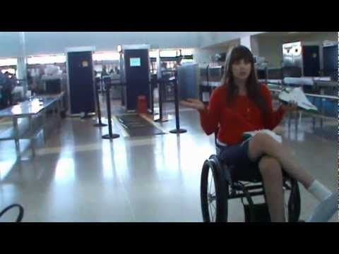 Get Wheelchair Travel Tips on Airports and Plane Flights: check-in, security, aisle chairs and more!