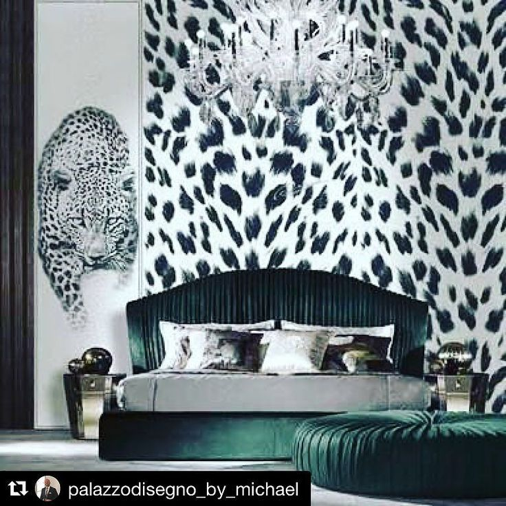 Wallpaper. Roberto Cavalli Home designed this iconic leopard print in black and white for their collection.  My personal favourite I specify in my interiors. #palazzodisegno #robertocavalli #madeinitaly #italy #wallpaper #wallart #art #moderninterior #classicinterior #leopardprint #leopard #robertocavallihome #palazzocollezioni
