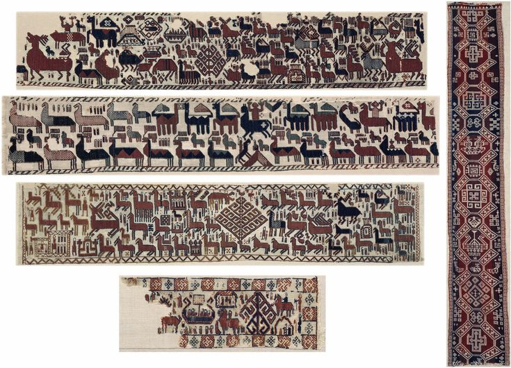 Overhogdal tapestries © Vatla. First believed to date from the Middle Ages, radiocarbon dating tests conducted in 1991 proved that the tapestries were made between 1040 -1170 – the late Viking Age.