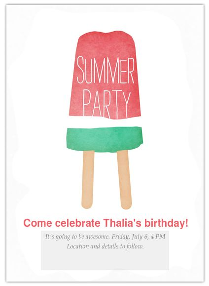 17 Best ideas about Custom Party Invitations – When to Send Party Invitations