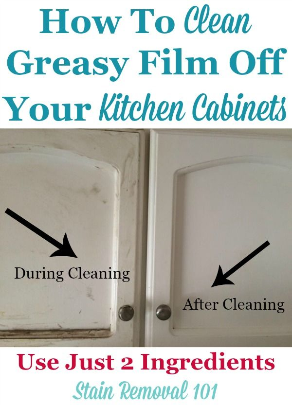attractive What To Use To Clean Greasy Kitchen Cabinets #10: Clean Kitchen Cabinets Off With These Tips And Hints